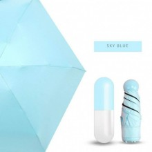 Мини-зонт в капсуле Capsule Umbrella Голубой