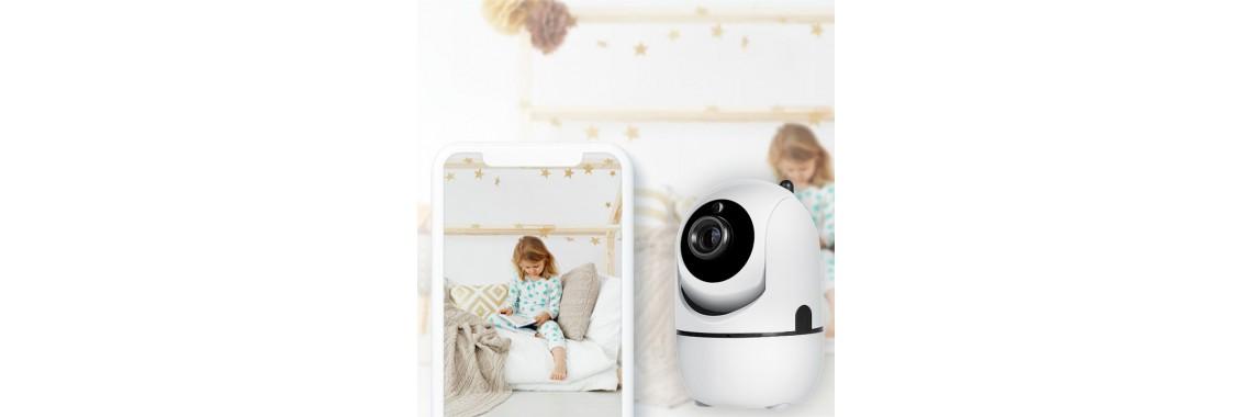 Беспроводная, поворотная Full HD Smart IP-камера 2Mp 32 Гб